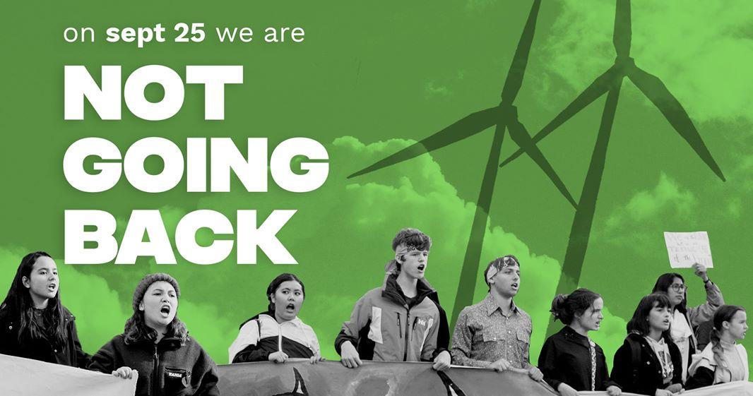 Canadian Teens #NotGoingBack, Striking for Legislative Demands