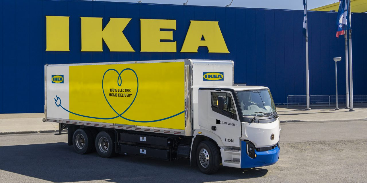 IKEA Canada Partners with Second Closet and Lion Electric for Last Mile Delivery in Several Markets